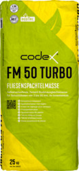 Dummy der codex Fliesenspachtelmasse FM 50 Turbo